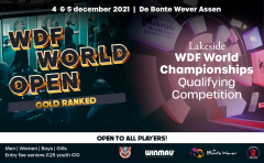 WDF World Open and World Championship Qualifiers