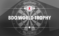 Loting BDO World Trophy bekend!