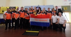 Het Nederlands team wint alle 4 de overall titels tijdens de 4 nations!