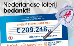 Dank aan de Nederlandse Loterij