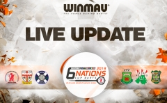 LIVE: Alles over de Winmau Six Nations Cup Darts 2019