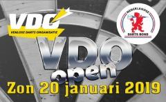 Online Inschrijving 'VDO Open' open
