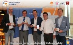 Kantinebaas gedeelde winnaar Nederlandse Loterij in Beweging Prijs